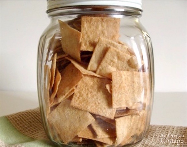 Sourdough Whole Wheat Cracker Jar