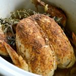 Rotisserie Style Slow Cooker Spiced Whole Chicken_650