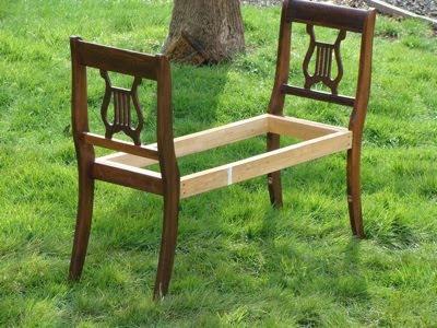 broken chair bench