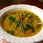 Fast & easy curried red lentil soup