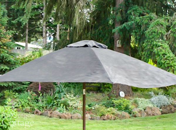 painted outdoor umbrella