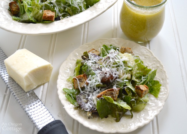 Classic Caesar Salad Dressing recipe