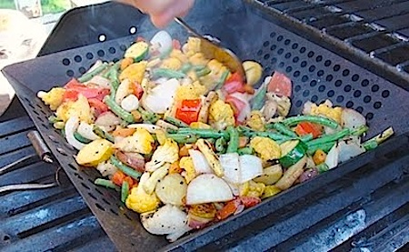 Easy Grilled Vegetables- An Oregon Cottage