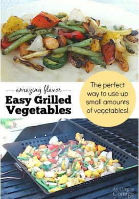 Use this technique to easily make amazing grilled vegetables and use up whatever vegetables are in your fridge or garden
