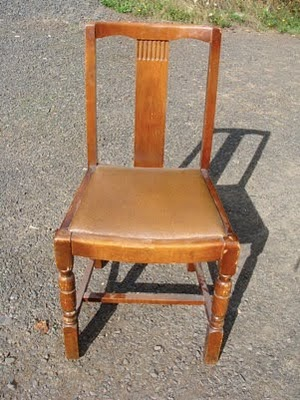 old chair before