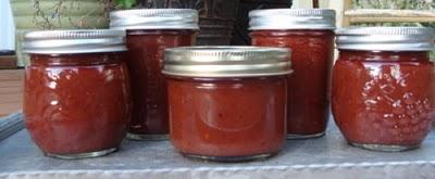 Less sugar plum sauce