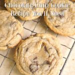 Only chocolate chip cookie recipe