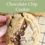 perfect chewy chocolate chip cookie