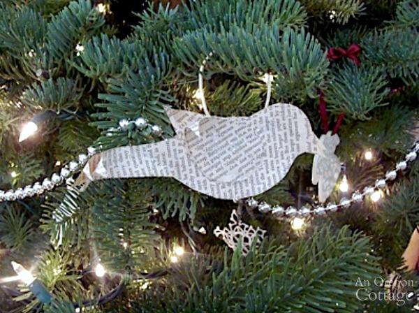 2011 Christmas Tree-book page bird