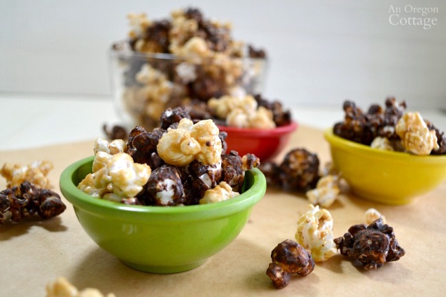 Delicious Homemade Honey Caramel Corn Moose Munch