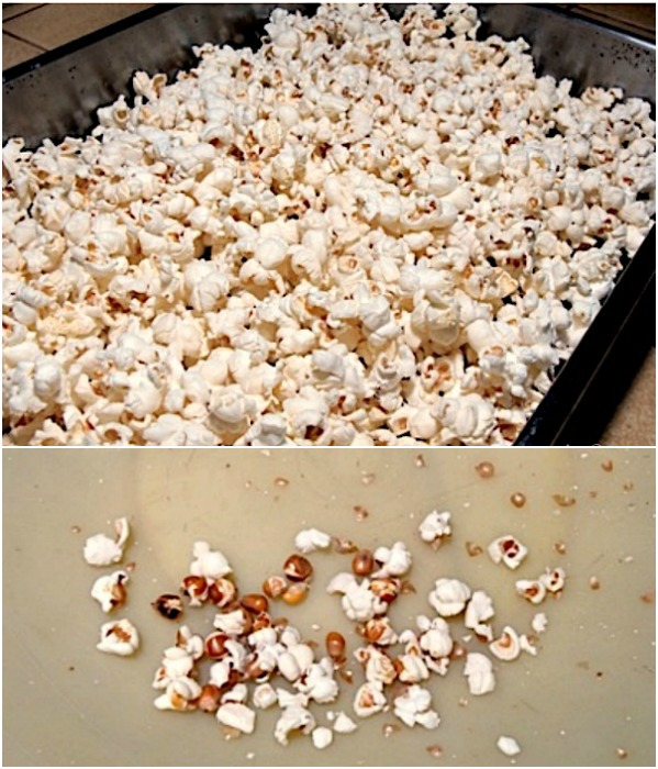 Easy homemade caramel corn-regular or moose munch_making popcorn