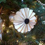 Fanned bk pg. ornament