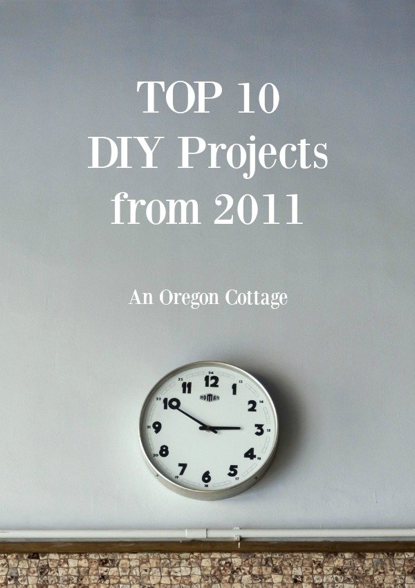 Top 10 DIY projects from 2011