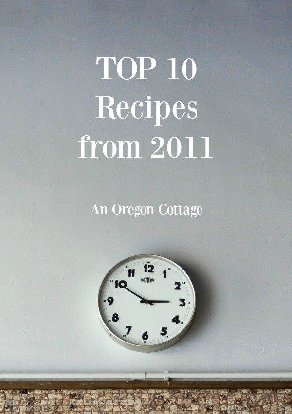 Top 10 Recipes of 2011