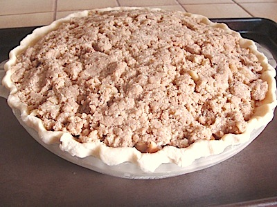 apple pie uncooked