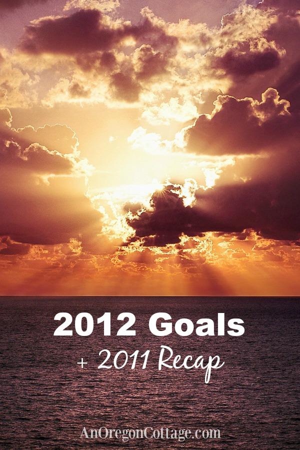 2012 Goals and 2011 Recap
