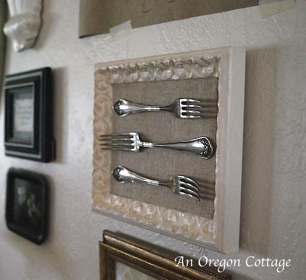 Gallery wall forks