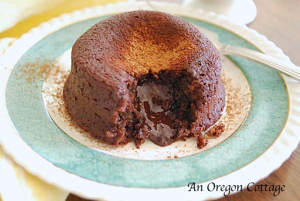 Quick & Easy Lava Cakes - An Oregon Cottage