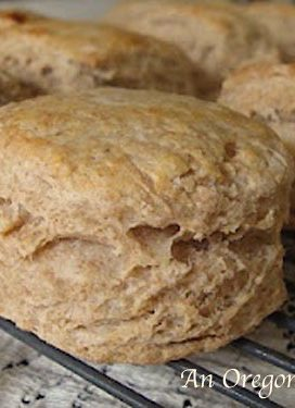 Amazing Whole Wheat Flaky Biscuits