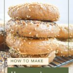 how to make sourdough bagels