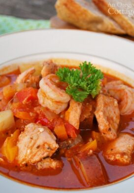 tomato seafood stew