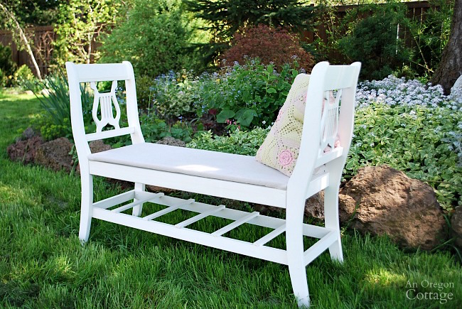 Incredible How To Make A French Styled Bench From Old Chairs Ncnpc Chair Design For Home Ncnpcorg