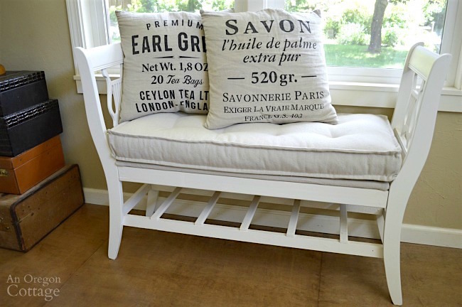Fine How To Make A French Styled Bench From Old Chairs Ncnpc Chair Design For Home Ncnpcorg