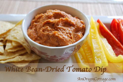 White Bean & Dried Tomato Dip