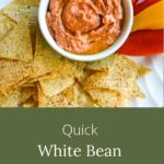 quick white bean dried tomato dip