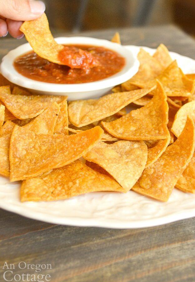10 minute tortilla chips