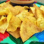 Easy 10 Minute Baked Tortilla Chips
