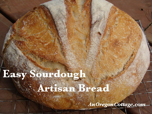 Easy Sourdough Artisan Bread
