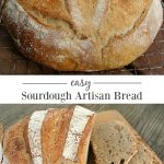 Loaf of sourdough artisan bread
