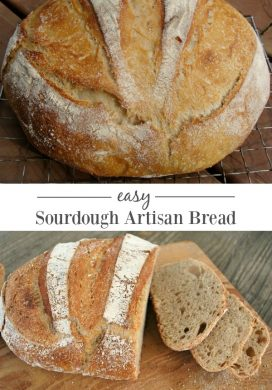 Easy Sourdough Artisan Bread Recipe
