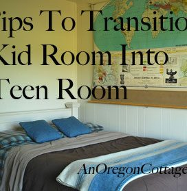 5 Tips To Transition A Kid Room To A Teen Room