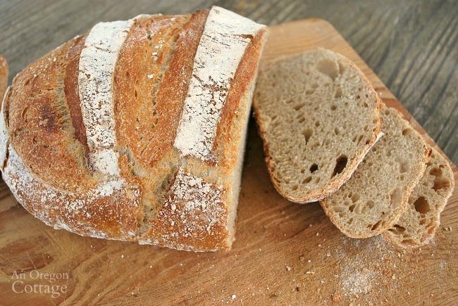 Easy Sourdough Artisan Bread Recipe An Oregon Cottage