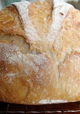 Easy Sourdough Artisan Bread
