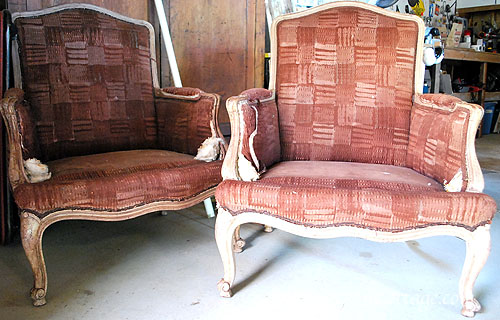 French chairs before