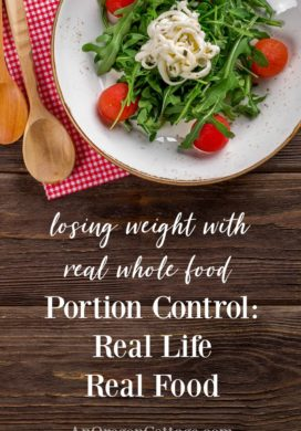 Portion control-real life real food