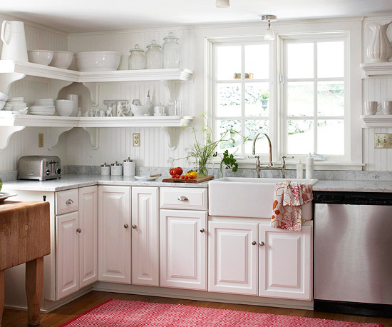 BHG Kitchen Shelves