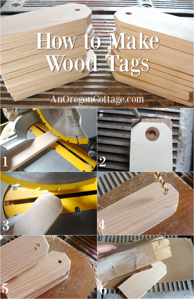 How to make wood tags