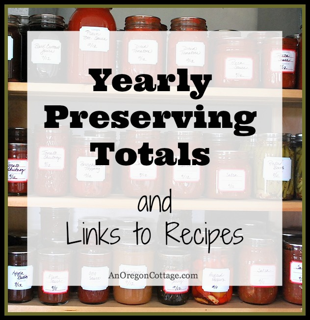 Preserved-Food-Canning-Recipes: An Oregon Cottage