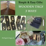 DIY Wood Tags Three Ways