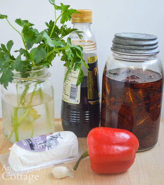 goat cheese appetizer ingredients