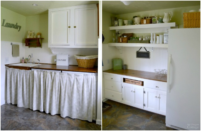 AOC House Tour-Laundry Room