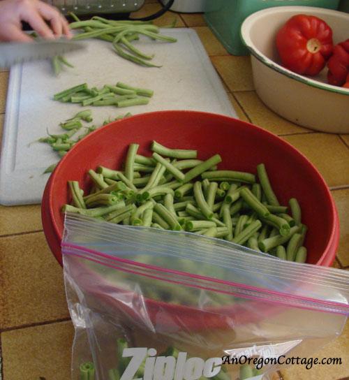 Chopping-Beans
