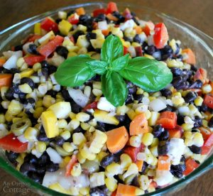 Quick and Easy Chopped Salad