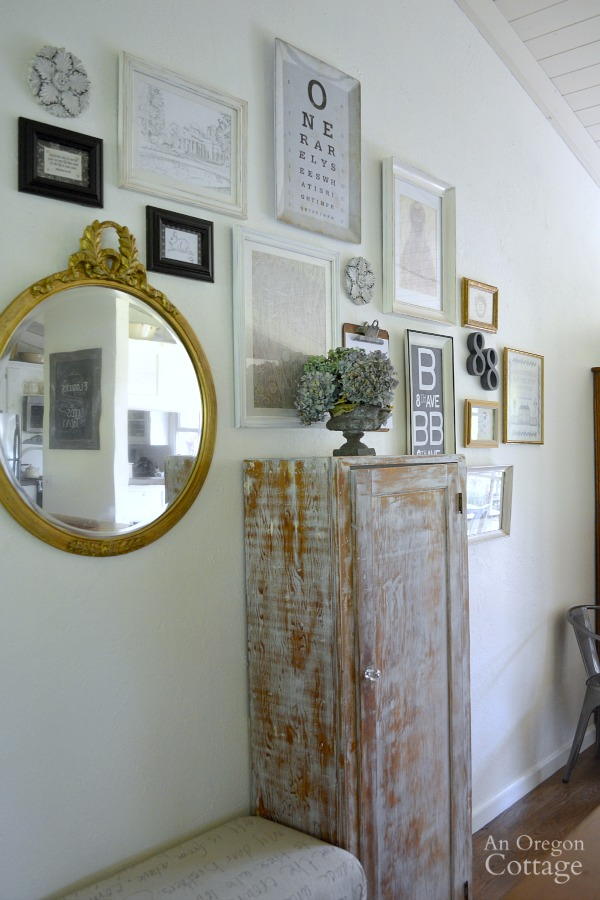 Entry Gallery Wall