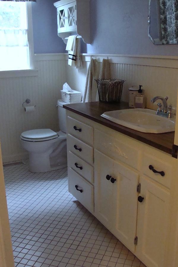 Main Bath - House Tour An Oregon Cottage