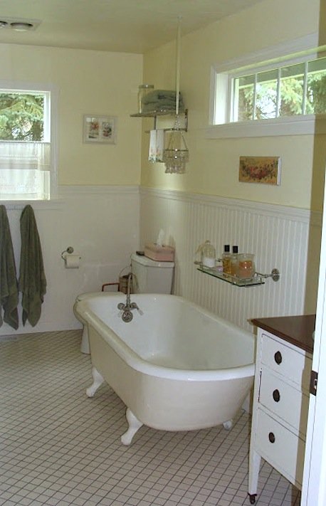 Master Bathroom - House Tour An Oregon Cottage